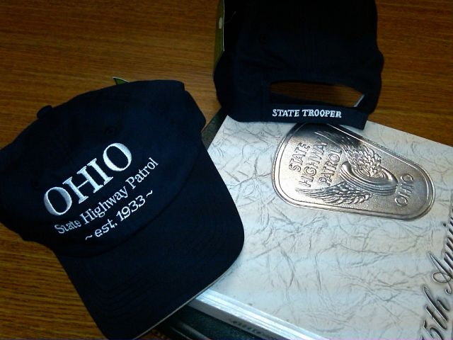 Embroidered Ohio State Highway Patrol Hat